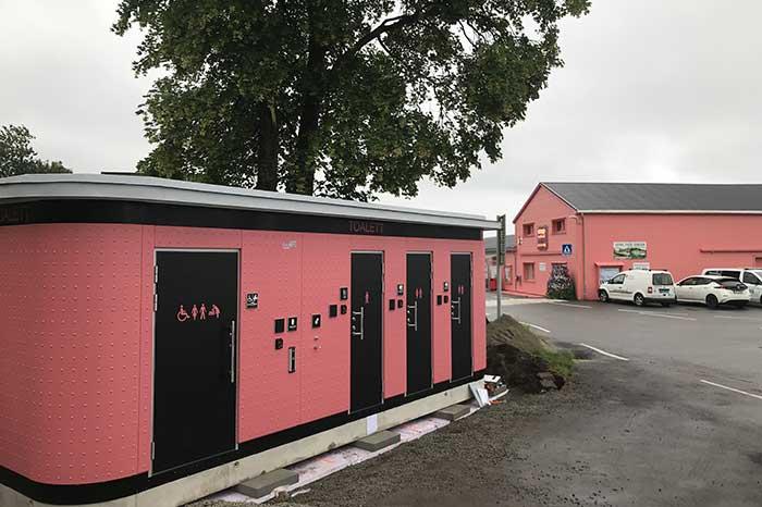 Nytt offentlig toalett på Forsand Kai i Rogaland