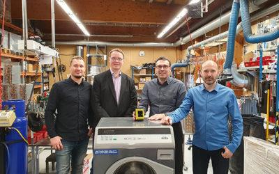 EBS Finland har inngått avtale med Esteri Laundry Machines Oy