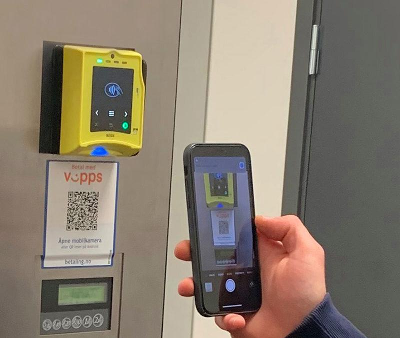 Vipps-Nayax betaling fra Elektroniske Betalings Systemer AS