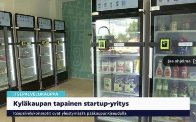 Selvbetjent matbutikk i Helsinki