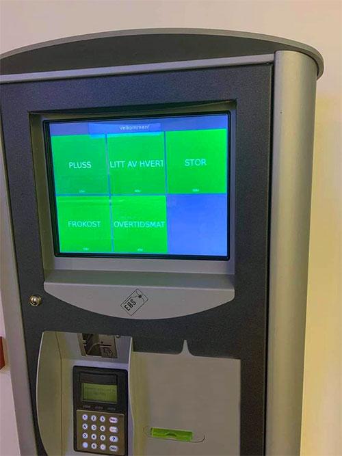 Betal for varer eller tjenester med NoCash Touch
