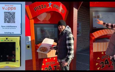 Første pizza-automat i Nordre Follo